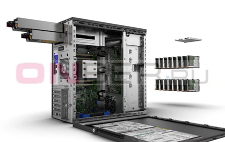 сервер HP Proliant ML110