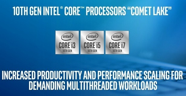Comet-Lake процессоры от Intel