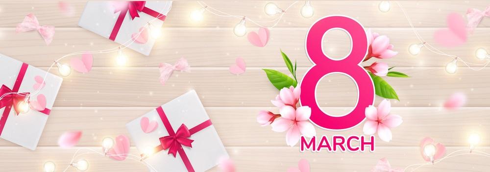 Поздравляем клиентов и партнеров с 8 Марта!